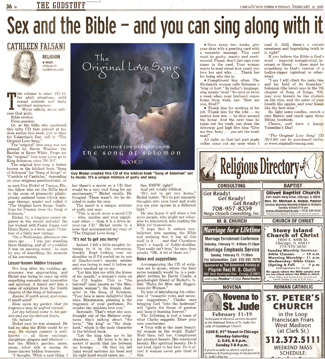 Sex and the Bible,